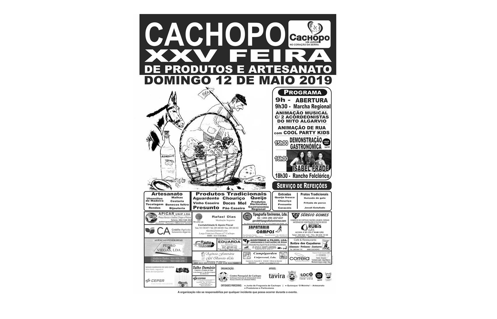 XXV Feira de Produtos e Artesanato de Cachopo