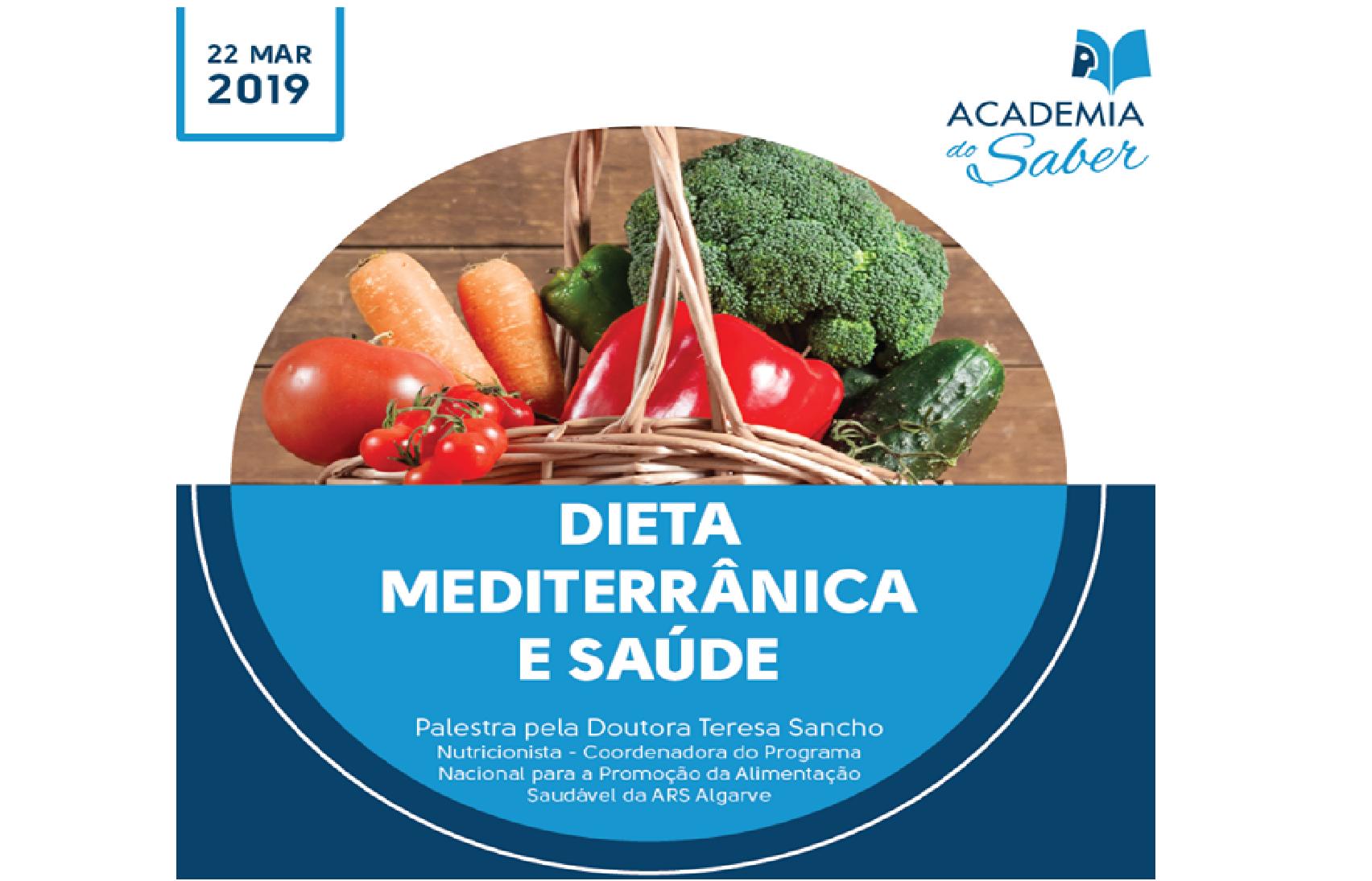 Dieta Mediterrânica e Saúde (Academia do Saber - Quarteira)