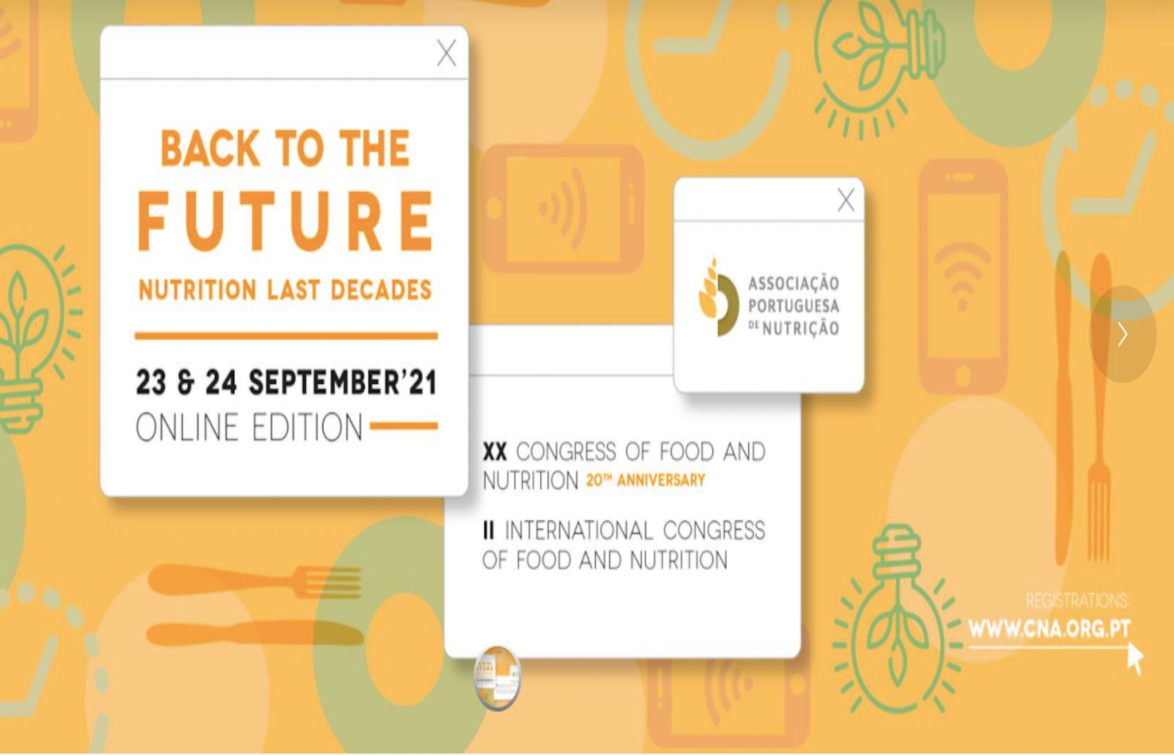 XX Congresso de Nutrição e Alimentação