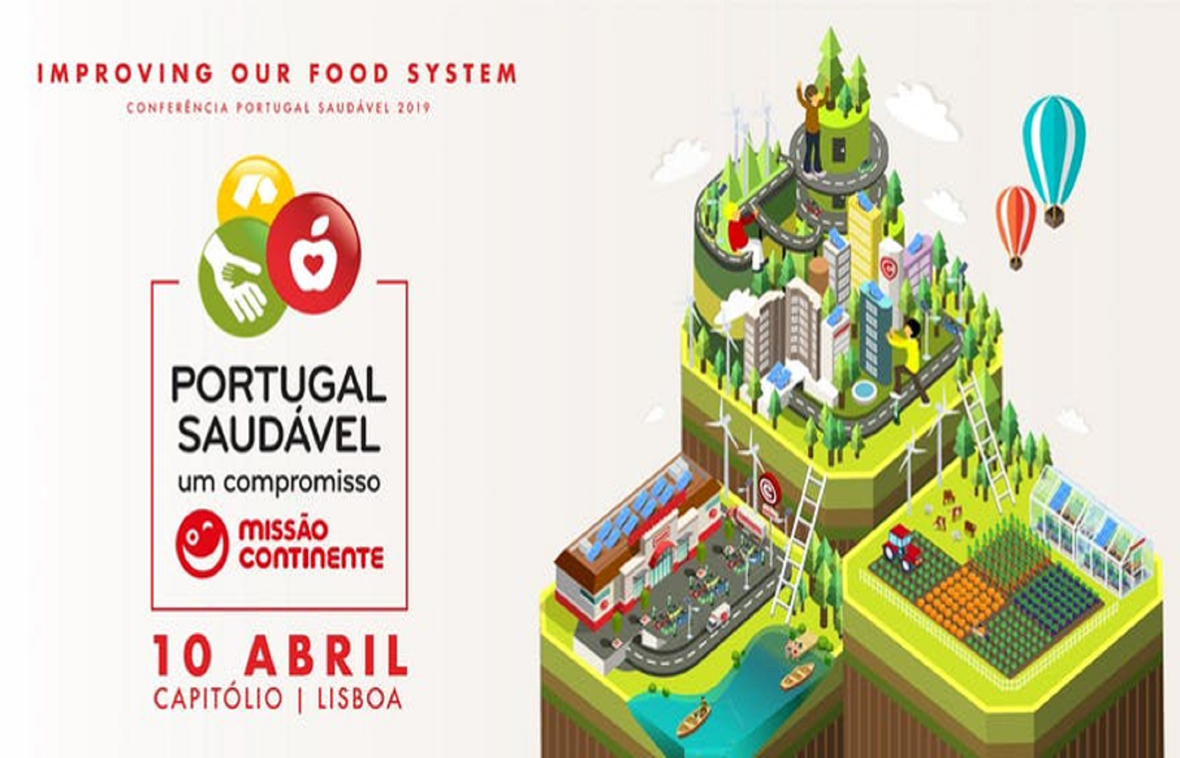Conferência Portugal Saudável | Improving our food system