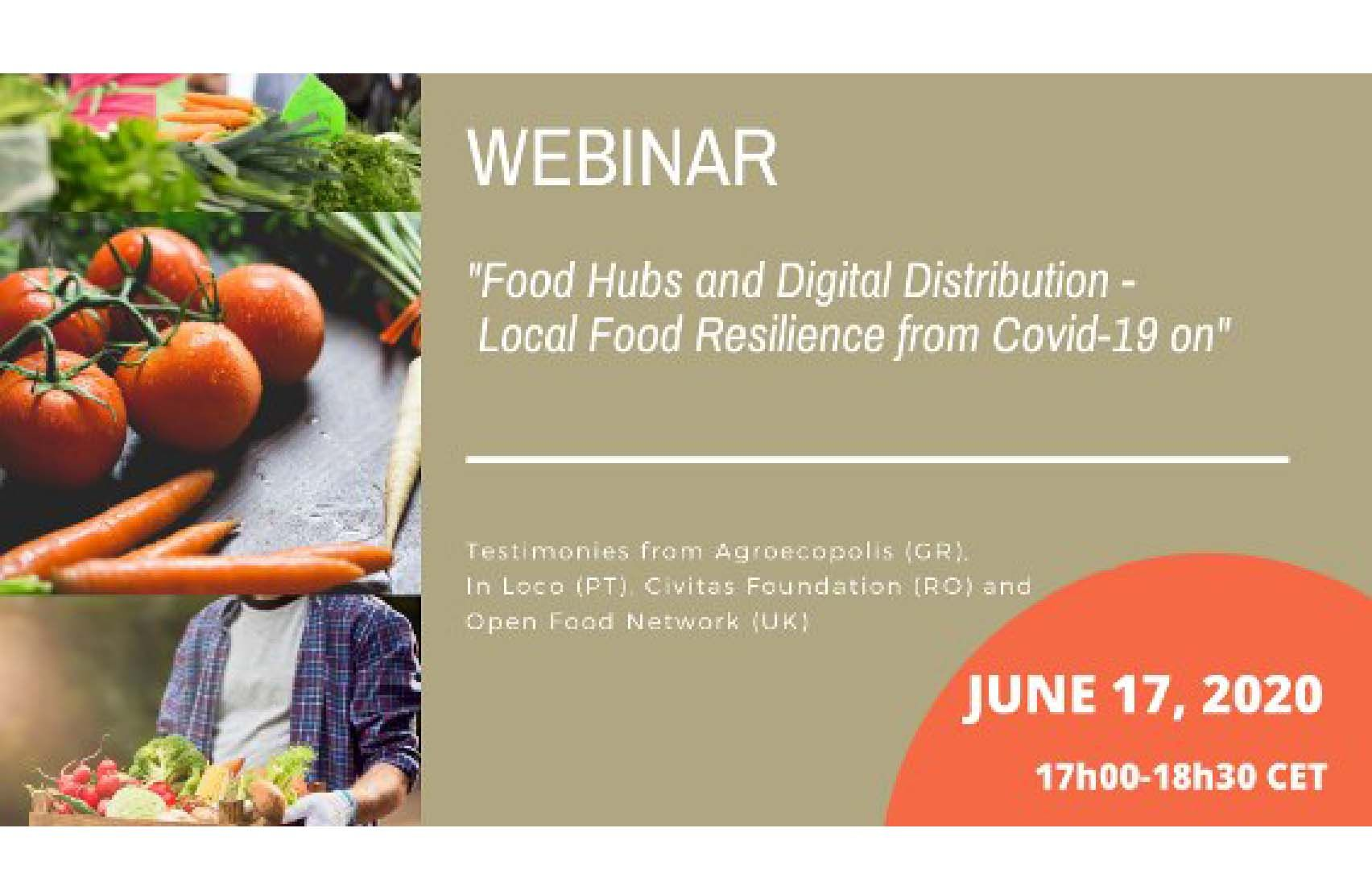 Webinar - Food Hubs and digital distribution - Local Food resilie