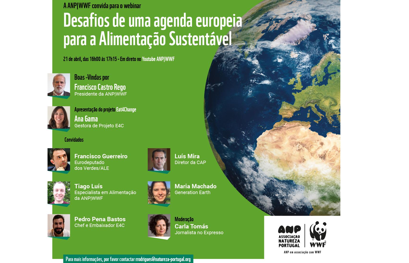 Desafios de uma agenda europeia para a Alimentação Sustentável