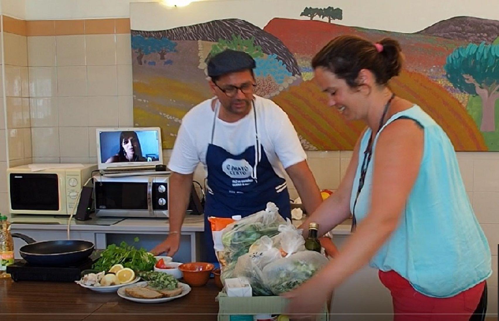 Dinamização de ação para beneficiários de cabaz alimentar