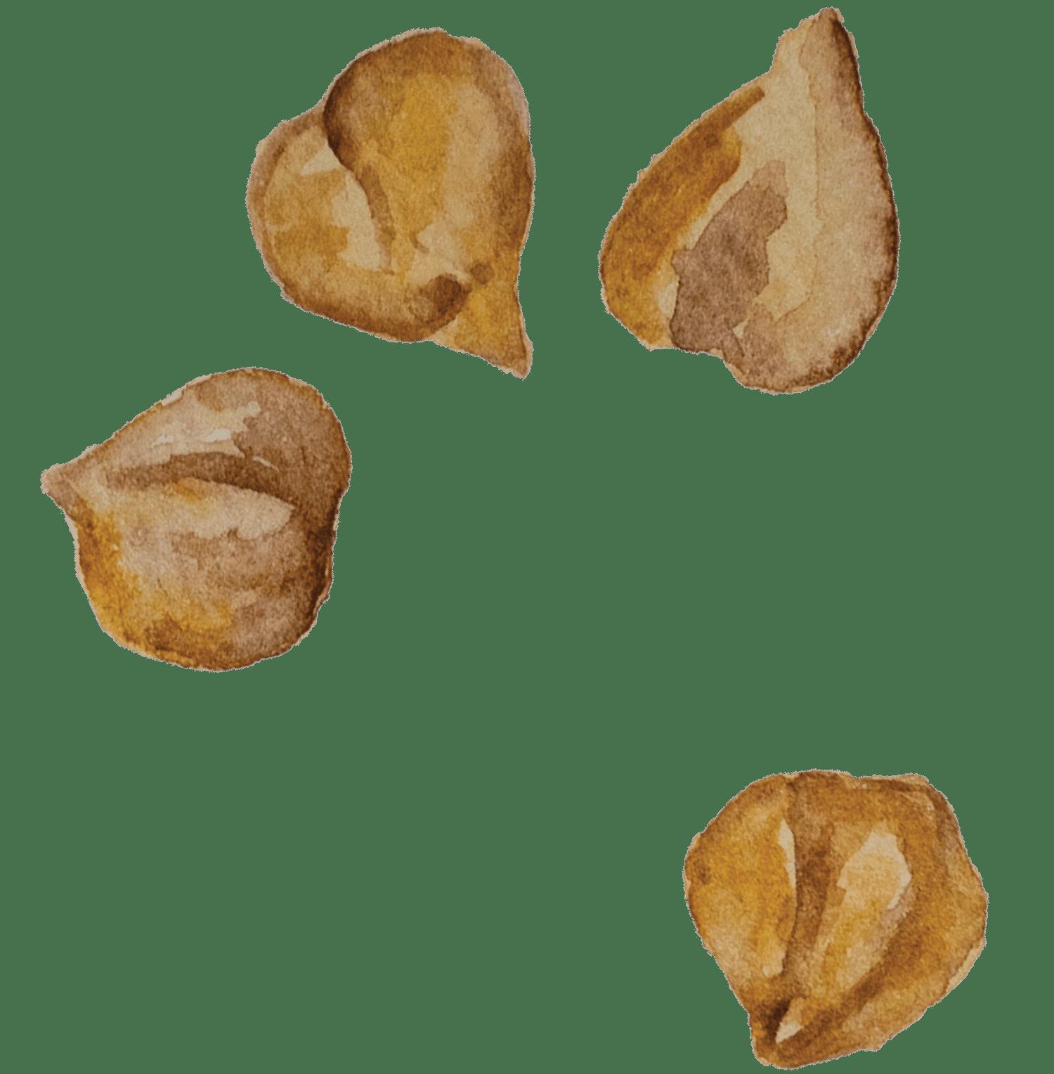 Almôndegas de lentilhas e grão de bico