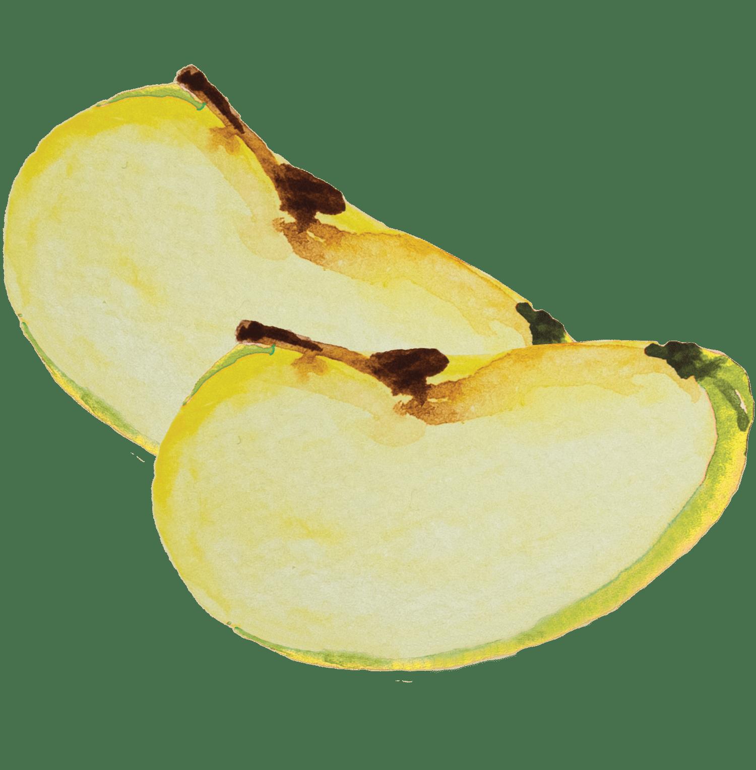 Salteado de frango e maçã